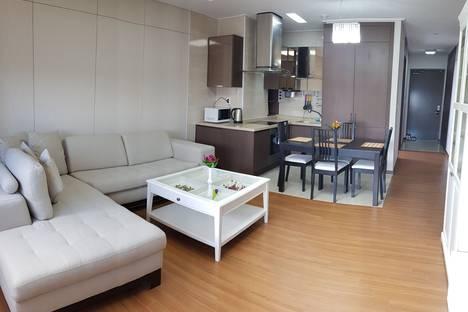 Сдается 3-комнатная квартира посуточно в Астане, Астана.