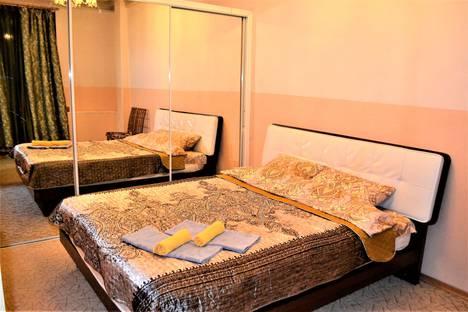 Сдается 3-комнатная квартира посуточно, проспект Ленина, 67.