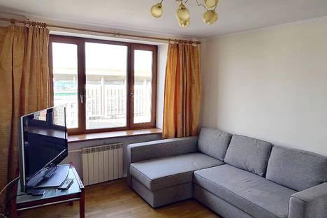 Сдается 2-комнатная квартира посуточно в Москве, улица Гиляровского, 33.