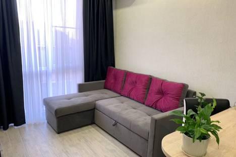 Сдается 1-комнатная квартира посуточно в Адлере, Тростниковая улица, 35.