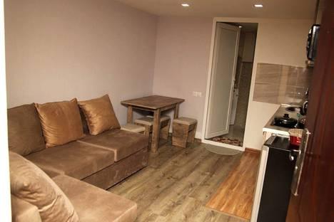 Сдается 1-комнатная квартира посуточно, улица Паоло Ияшвили 16.