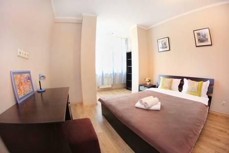 Сдается 2-комнатная квартира посуточно в Алматы, Навои 208/1.