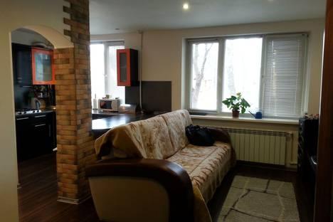Сдается 1-комнатная квартира посуточно в Серпухове, Московская область,Центральная улица, 155.