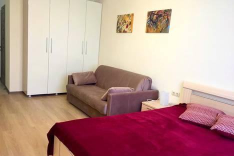 Сдается 1-комнатная квартира посуточно, микрорайон Новое Поселение, Гвардейский переулок, 13.