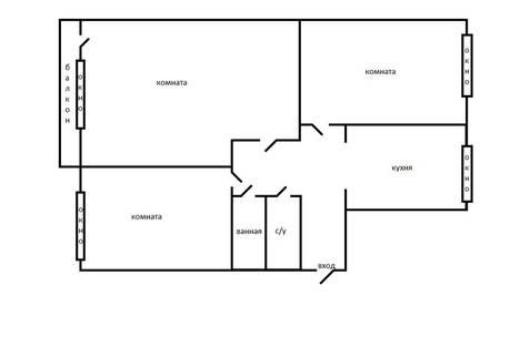 Сдается 3-комнатная квартира посуточно, Светланская улица, 86.