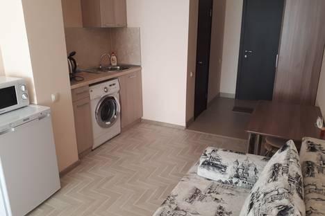 Сдается 1-комнатная квартира посуточно, 3-й микрорайон проспекта имени Ю.А. Гагарина, 34А.
