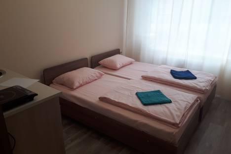 Сдается 1-комнатная квартира посуточно в Златоусте, 3-й микрорайон проспекта имени Ю.А. Гагарина, 34а.