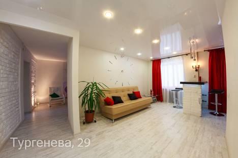 Сдается 2-комнатная квартира посуточно, Пермь, улица Тургенева, 29.