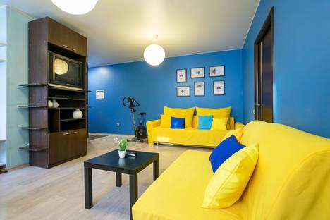 Сдается 3-комнатная квартира посуточно в Красноярске, улица Горького, 33.