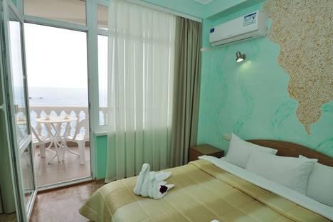 Сдается 1-комнатная квартира посуточно, Республика Крым, городской округ Алушта, поселок Утес, ПКРН Утес.