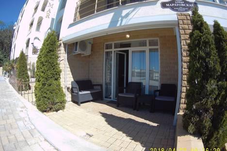 Сдается 1-комнатная квартира посуточно в Гаспре, Республика Крым, городской округ Ялта,Маратовская улица, 69Б.