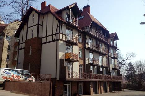 Сдается 2-комнатная квартира посуточно в Светлогорске, Подгорная улица, 2А.