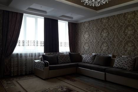 Сдается 4-комнатная квартира посуточно в Бишкеке, улица Киевская, 114/2, кв. 36.