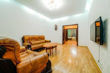 Сдается 3-комнатная квартира посуточно в Минске, проспект Независимости 22.