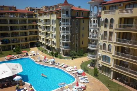 Сдается 2-комнатная квартира посуточно в Несебыре, область Бургас,курортный комплекс Слынчев-Бряг.