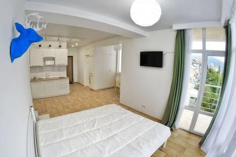 Сдается 1-комнатная квартира посуточно в Ялте, Республика Крым,улица Сеченова, 20.
