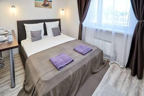 Сдается 1-комнатная квартира посуточно в Калуге, Хрустальная улица, 44к3.