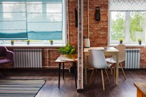 Сдается 1-комнатная квартира посуточно в Юрге, Строительная улица, 43.