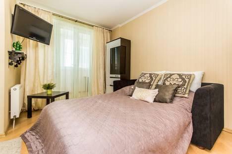 Сдается 1-комнатная квартира посуточно в Краснодаре, Фестивальный микрорайон, Дальняя улица, 39/2, подъезд 2.