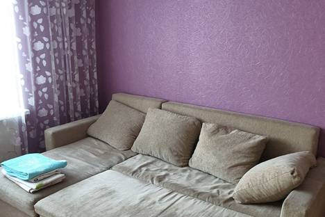 Сдается 1-комнатная квартира посуточно, Чувашская Республика,микрорайон Байконур, улица Академика Королева, 5.