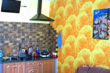 Сдается 1-комнатная квартира посуточно, Алушта, поселок Утес, улица Гагариной, 25.