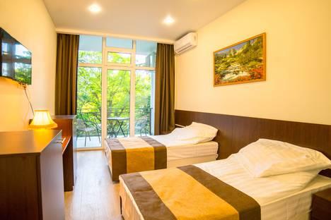 Сдается 1-комнатная квартира посуточно в Сочи, Краснодарский край,микрорайон Светлана, Депутатская улица, 10.
