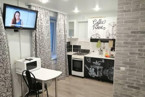 Сдается 1-комнатная квартира посуточно в Перми, улица Борчанинова, 6.