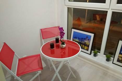 Сдается 1-комнатная квартира посуточно в Калининграде, улица 9 Апреля, 86А.