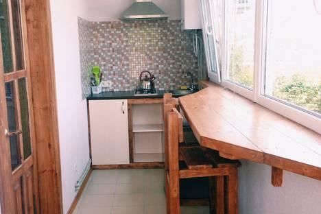 Сдается 1-комнатная квартира посуточно в Коктебеле, Республика Крым, городской округ Феодосия,Приморская улица, 24/4.