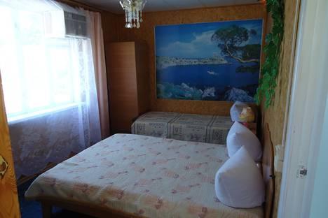 Сдается комната посуточно в Алуште, Республика Крым,улица Глазкрицкого, 7.