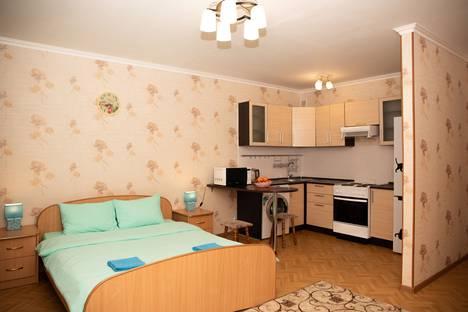 Сдается 1-комнатная квартира посуточно в Тобольске, 7-й микрорайон, 45.
