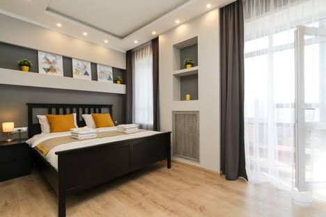 Сдается 2-комнатная квартира посуточно в Новосибирске, улица Ольги Жилиной, 23.