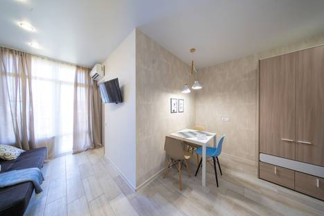 Сдается 1-комнатная квартира посуточно в Адлере, Краснодарский край, Сочи, Субтропическая улица, 7.