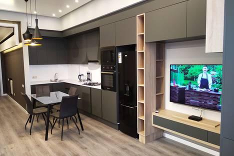 Сдается 2-комнатная квартира посуточно, улица Теряна 8.