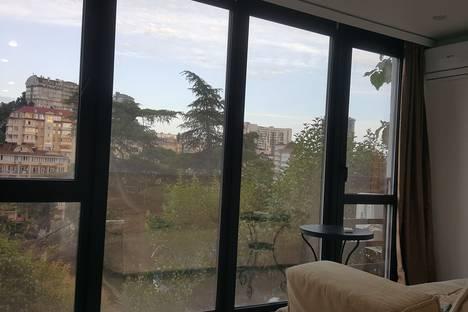 Сдается 2-комнатная квартира посуточно в Сочи, павла корчагина д.9.