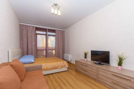 Сдается 1-комнатная квартира посуточно в Новосибирске, улица Серебряные Ключи 6.