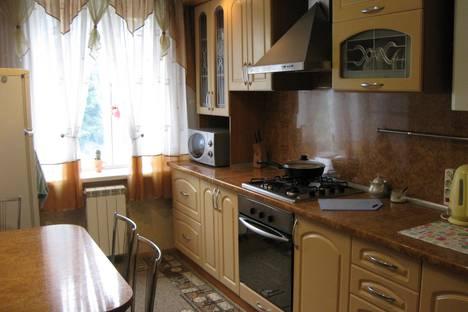Сдается 2-комнатная квартира посуточно в Барановичах, Брестская область,улица Чурилина, 9.