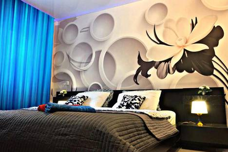 Сдается 1-комнатная квартира посуточно в Омске, проспект Карла Маркса, 75А.