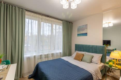 Сдается 1-комнатная квартира посуточно в Пушкино, Московская область,мкр. Серебрянка, 55.
