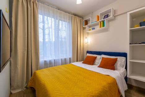 Сдается 1-комнатная квартира посуточно в Пушкино, Московская область,микрорайон Серебрянка, 55.