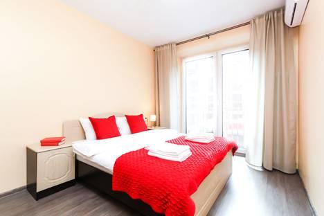Сдается 2-комнатная квартира посуточно в Новосибирске, улица Декабристов, 41.