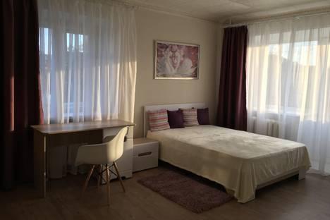 Сдается 1-комнатная квартира посуточно в Перми, 1-я Красноармейская улица, 44А.