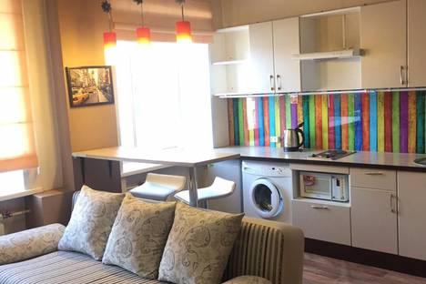 Сдается 1-комнатная квартира посуточно в Красноярске, улица Горького, 6А.
