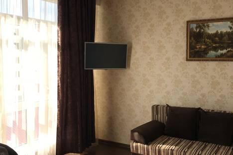 Сдается 1-комнатная квартира посуточно в Адлере, Сочи, улица Просвещения, 167.