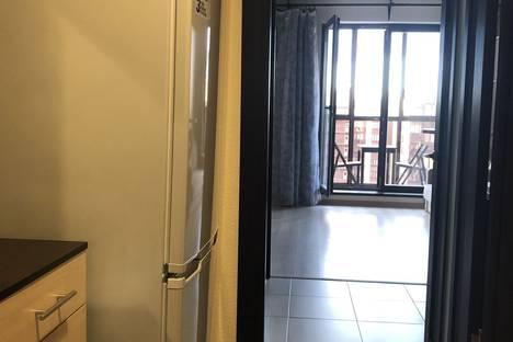 Сдается 1-комнатная квартира посуточно в Мурине, Санкт-Петербург бульвар Менделеева 12корпус 1.