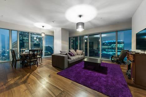 Сдается 3-комнатная квартира посуточно, 1-й Красногвардейский проезд, 21с2.