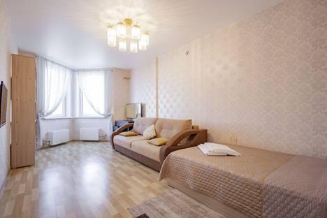 Сдается 1-комнатная квартира посуточно в Красноярске, Октябрьская улица, 8А.