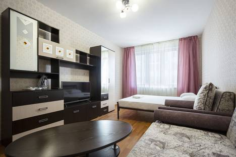 Сдается 1-комнатная квартира посуточно в Красноярске, улица 9 Мая, 83к1.