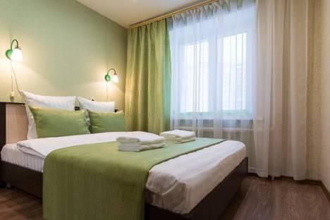 Сдается 2-комнатная квартира посуточно в Новосибирске, улица Крылова, 64Б.