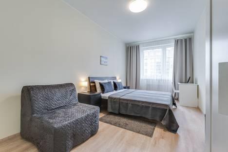 Сдается 2-комнатная квартира посуточно в Пушкине, Санкт-Петербург,Саперная улица, 55к2с3.